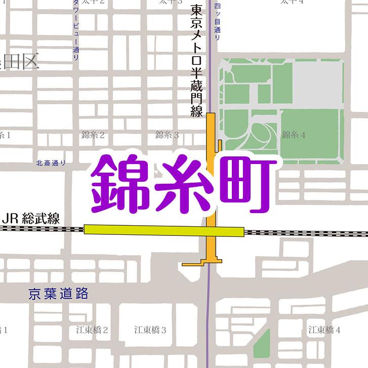 錦糸町(地図面)
